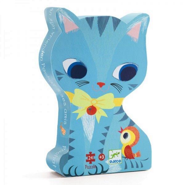 Djeco Puzzles Katze Pachat und Freunde