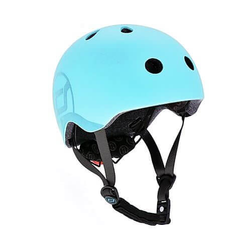 Scoot and Ride Fahrradhelm Kinder S-M / 51-55 cm Blueberry