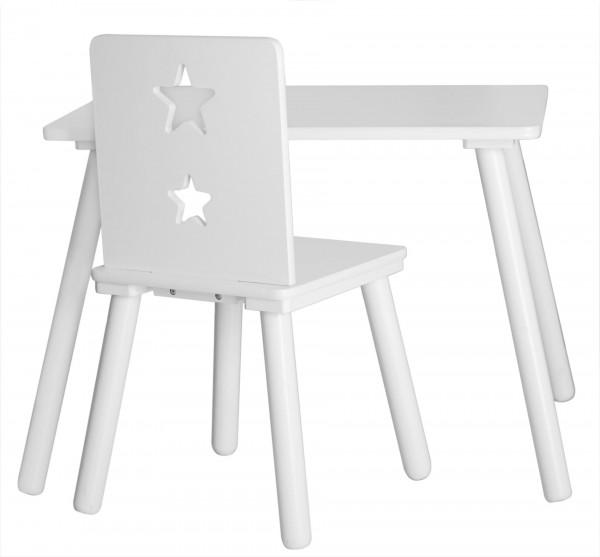 """Kid's Concept Tisch 60x42, H""""he 45 cm, Star weiß"""