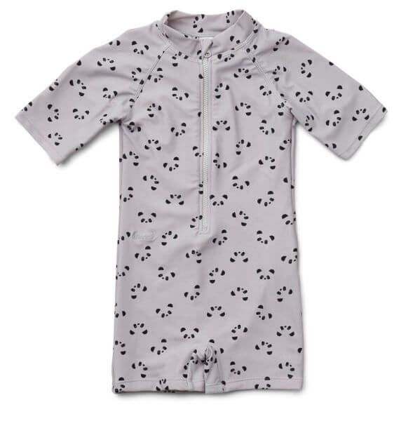 Liewood Badeanzug Panda Grau für Jungen in zwei Größen_LW12817