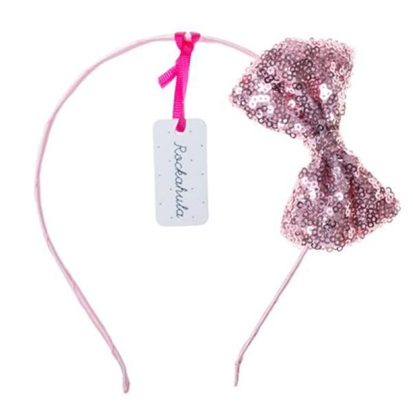 Rockahula Haarreif Sequin Bow Pink