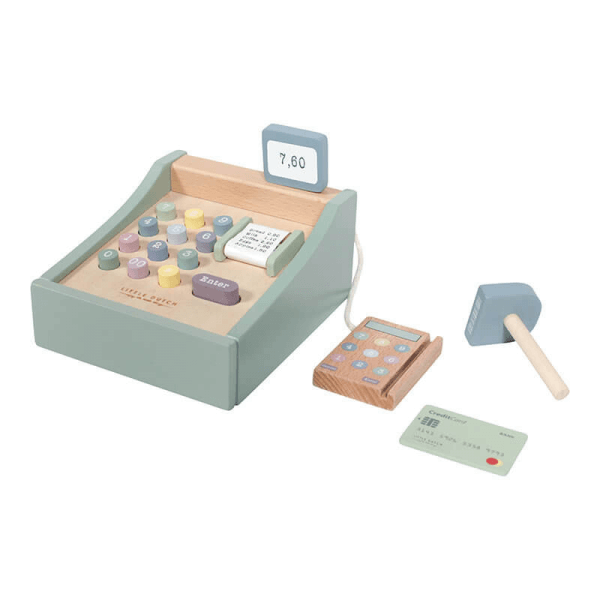 Little Dutch Holz Spielkasse mit Scanner