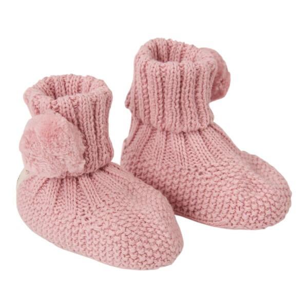 Koeka Babyschuhe Barley Dusty Pink Onesize
