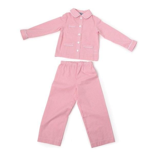 Le Petit beurre Pyjama Vichy Karo Rosa GR.122