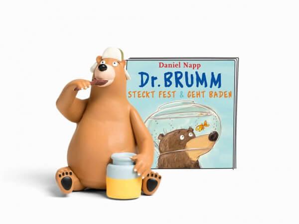 "Tonies Hörfigur Dr. Brumm ""Dr.Brumm geht Baden / Dr.Brumm steckt fest"""