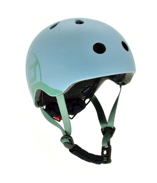 Scoot and Ride Fahrradhelm Kinder XXS-S Steel