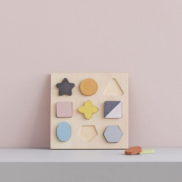 Kids Concept Holzpuzzle Formen Geo