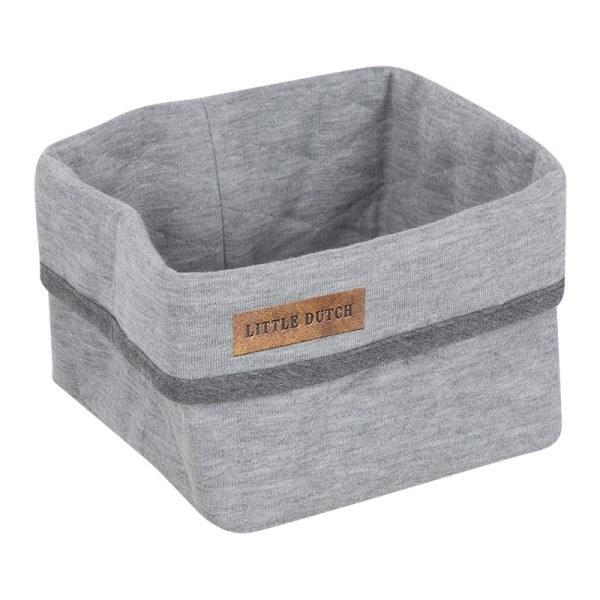 Little Dutch Körbchen klein Grey Melange