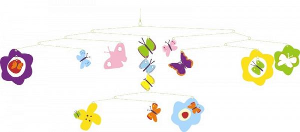 Djeco Babymobile Schmetterlinge