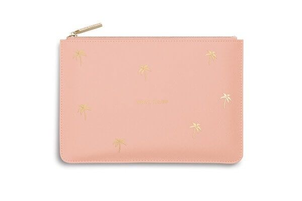 "Katie Loxton Clutch ""Beach Please"" PEACH 16 x 24 cm"