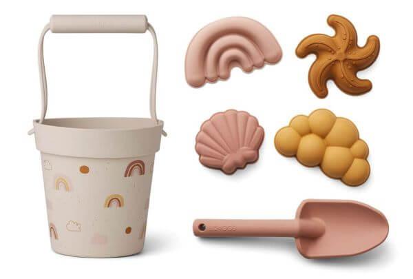 Liewood Strandspielzeug-Set Regenbogen_LW12712-5070