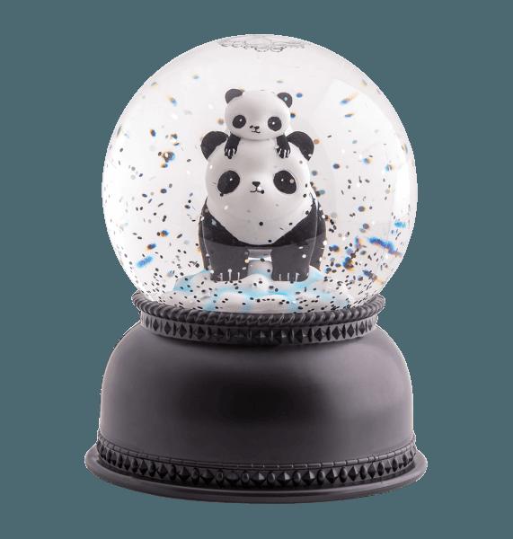 A Little Lovely Company Schneekugel Panda beleuchtet