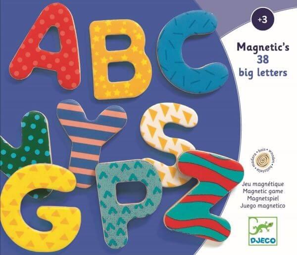 Djeco Magnetics Magnete Buchstaben
