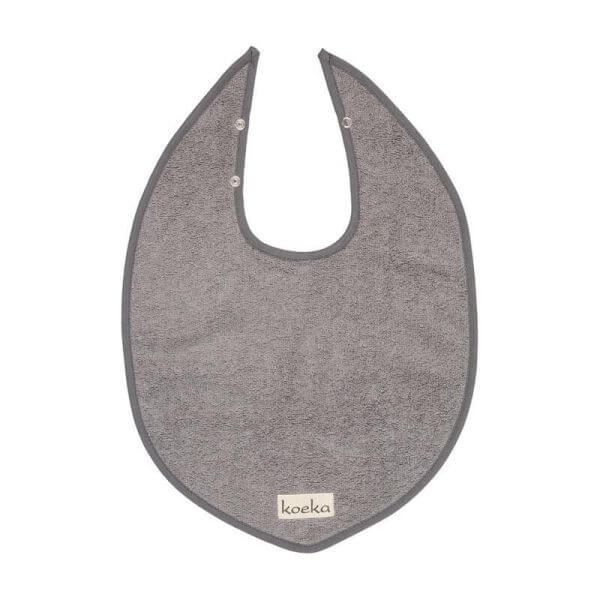 Koeka Lätzchen Dijon Steel Grey