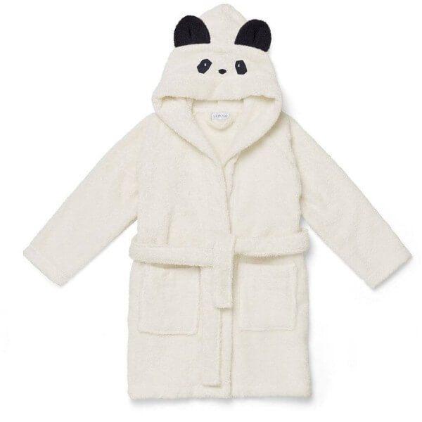 LIewood Bademantel Panda Creme