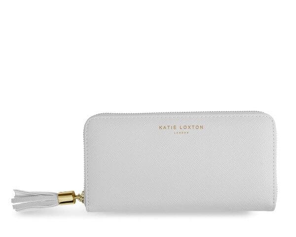 Katie Loxton Geldbörse mit Quaste GRAU 10 x 20 x 2,5 cm