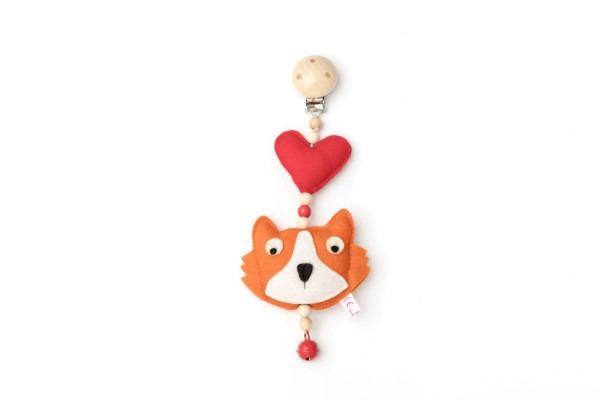 Deine Sommerliebe Anhänger Fuchs in 2 Farben
