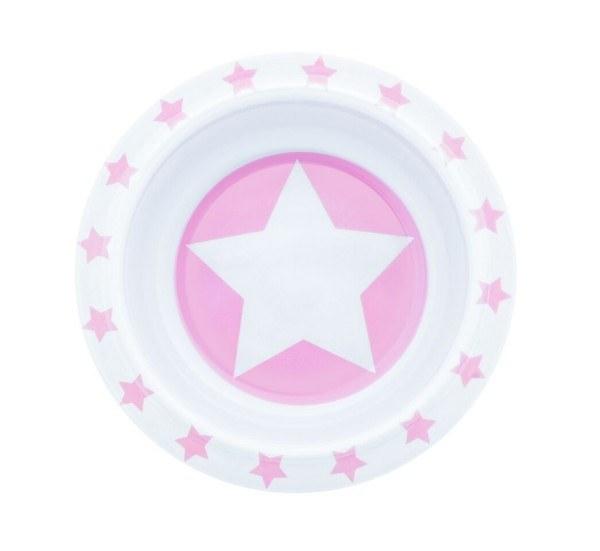Pimpalou Schüssel Melamin Stars Rosa