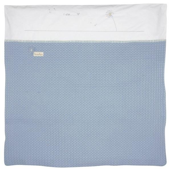 Koeka Bettbezug für Babytragetasche Antwerp Blowball soft blue