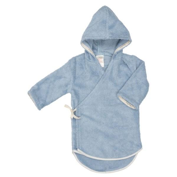 Koeka Bademantel mit Reißverschluss Venice Baby Soft Blau