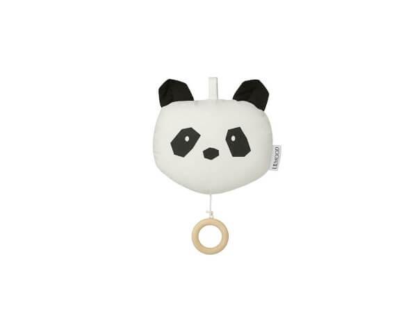 Liewood Spieluhr Panda Schwarz/Weiß