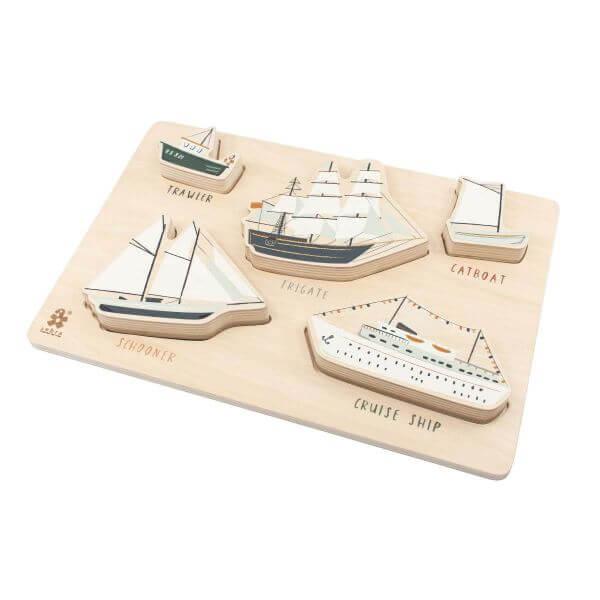 Sebra Holzpuzzle Seven Seas