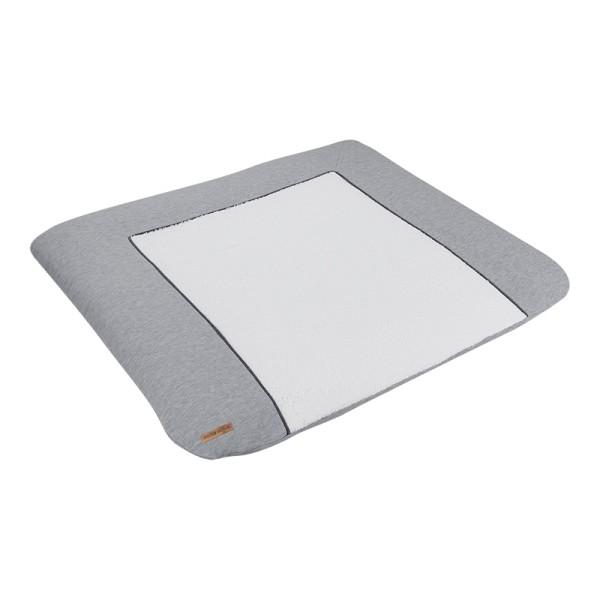 Little Dutch Wickelunterlagenbezug Grey Melange 75x85 cm