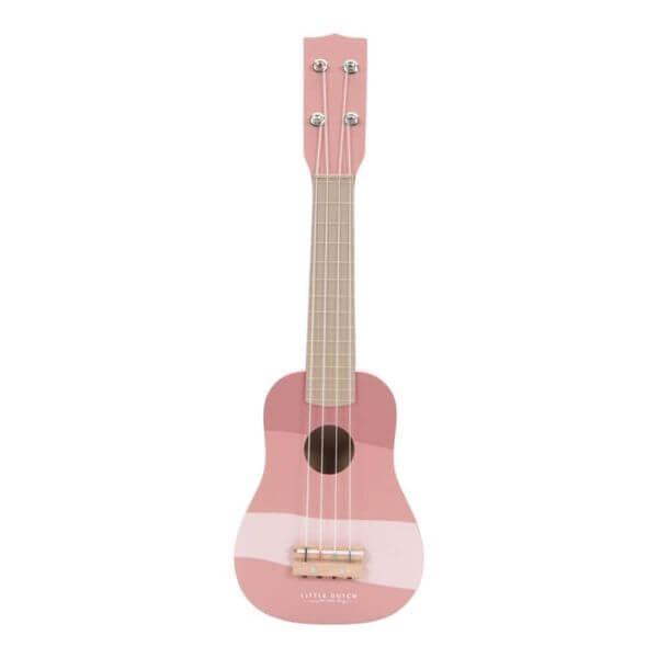 Little Dutch Holz Gitarre Pink_LD7014