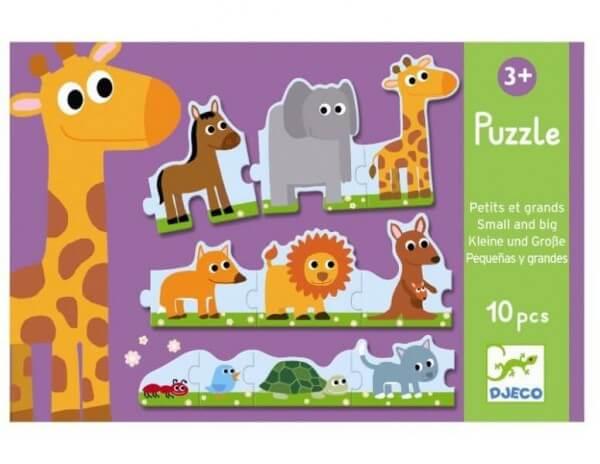 Djeco Erstes Puzzle Groß und Klein