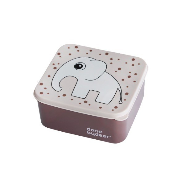 Done by Deer Lunchbox Elefant Rosa