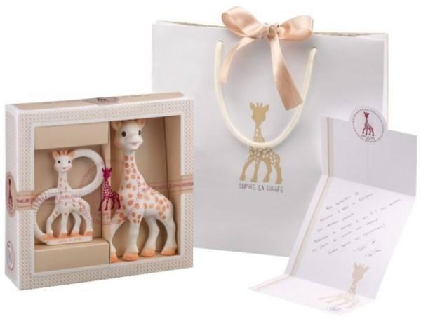 Sophie la Girafe Geschenkset zur Geburt