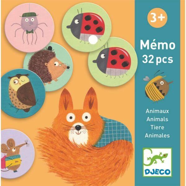 Djeco Lernspiel Memo Tiere 1