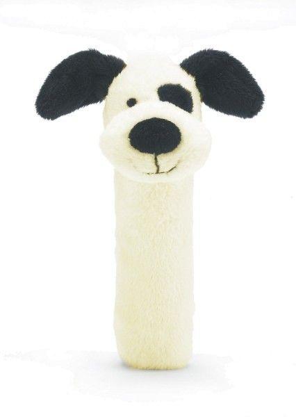 Jellycat Bashful Hund Greifling mit Quietscher