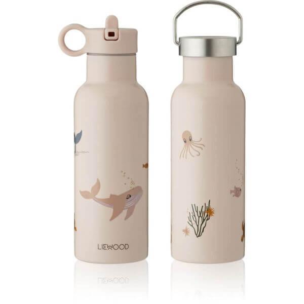 Liewood Trinkflasche 0,5l Unterwasserwelt rosa_LW13047-0286
