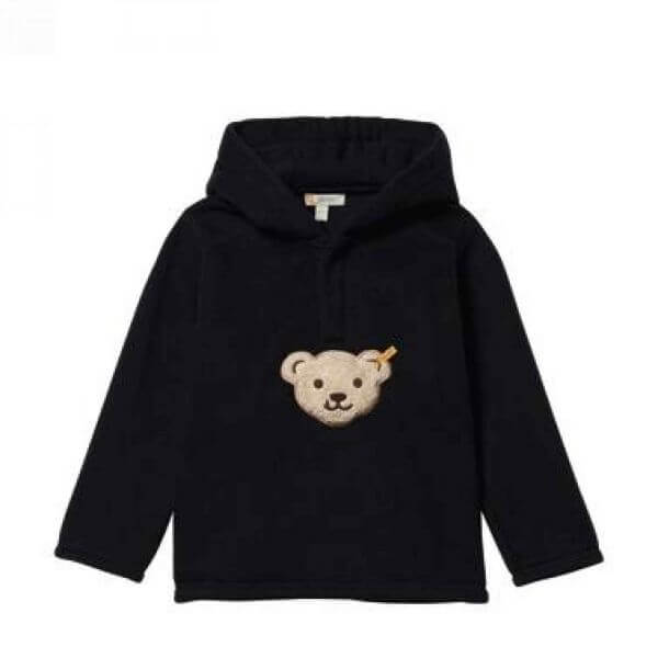 Steiff Sweatshirt Fleece in schwarz Gr:86