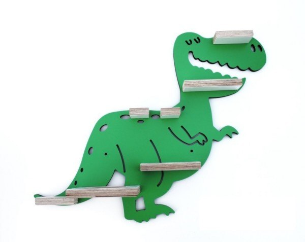 Kleine Schreiner Regal Dino für Tonie Figuren