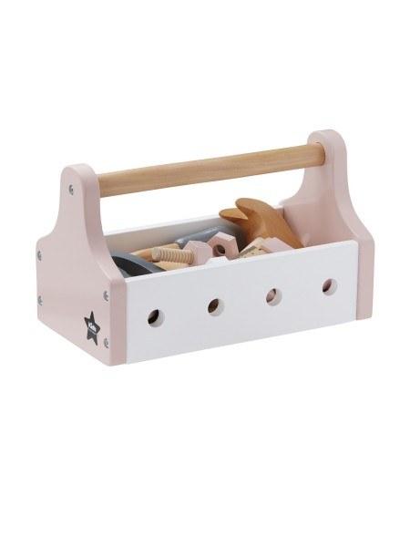 Kid's Concept Werkzeugkiste Pastell Rosa