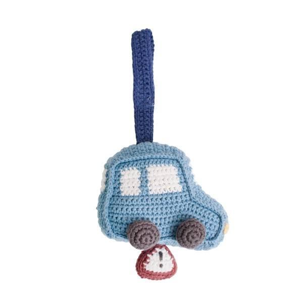 Sebra Häkel Spieluhr Auto