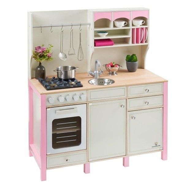 MUSTERKIND® Spielküche Salvia Creme/Rosa
