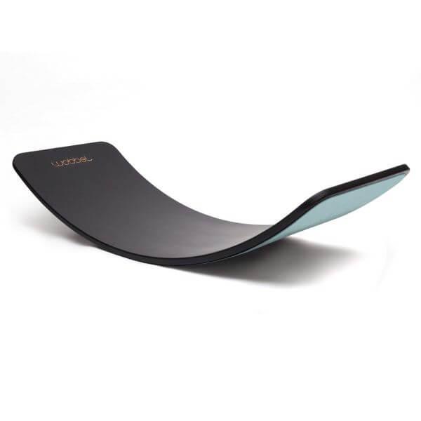 Wobbel Balance Board Original XL Limited Edition Black Wash Filz Grau_WOB-ORIGINAL-XL-BLACKWASH-SKY