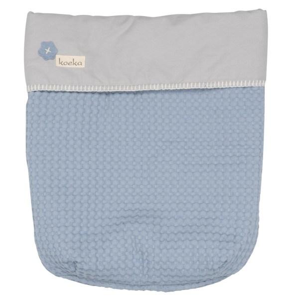 Koeka Babydecke Antwerp (Maxi cosi) Soft blue/silver grey