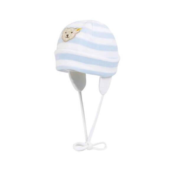 Steiff Mütze Gr: 45 in blau