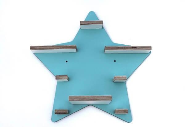 Kleine Schreiner Regal Stern für Tonie-Figuren Mint