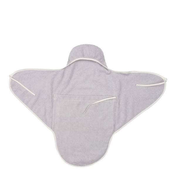 Koeka Umschlagtuch für Neugeborene Venice silver grey