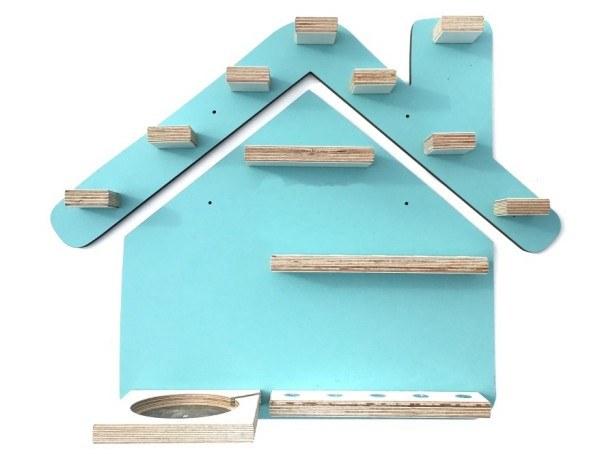 Kleine Schreiner Regal Haus für Tonie-Figuren Mint