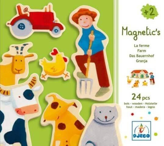 Djeco Magnetics Magnete Bauernhof