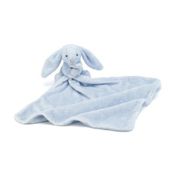 Jellycat Bashful Blue Bunny Hase Schmusetuch