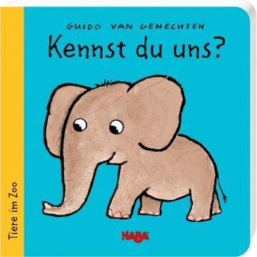 HABA Pappbilderbuch Kennst du uns? Tiere im Zoo