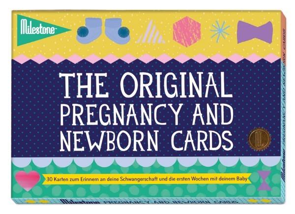 Milestone Schwangerschafts- und Neugeborenenkarten