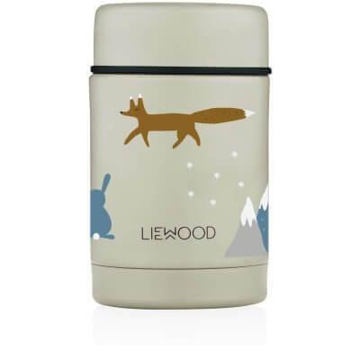 Liewood Isolierbehälter Winter Tiere_LW12862-0291